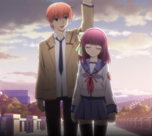 [720p]Angel Beats!  ED3 14MB